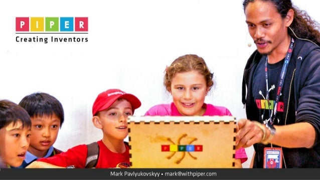 III!  'M'-'  Creating Inventors  Mark Pavlyukovskyy - rnark@withpiper. com