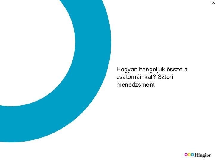 Hogyan hangoljuk össze a csatornáinkat? Sztori menedzsment