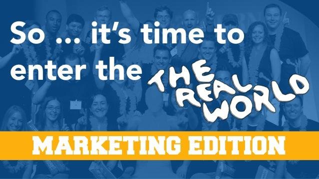 21 Things Every Graduating Marketing Senior Needs to Know Slide 3
