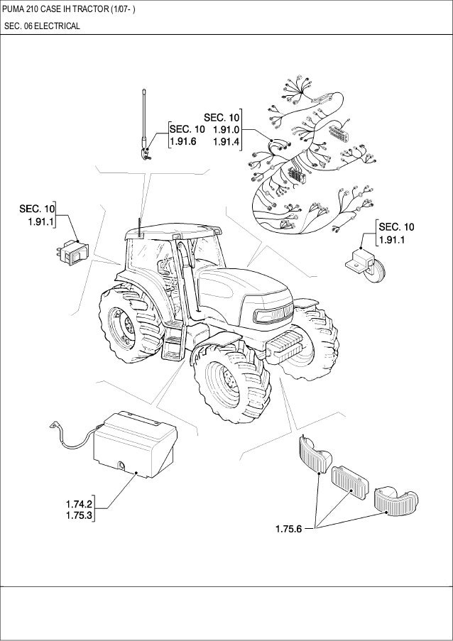 Tractor Parts For Electric