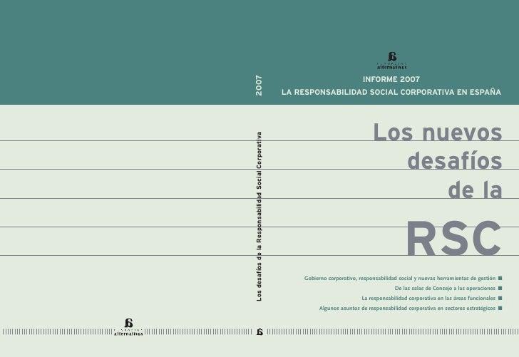 Nuevos Desafios de la RSC.2007