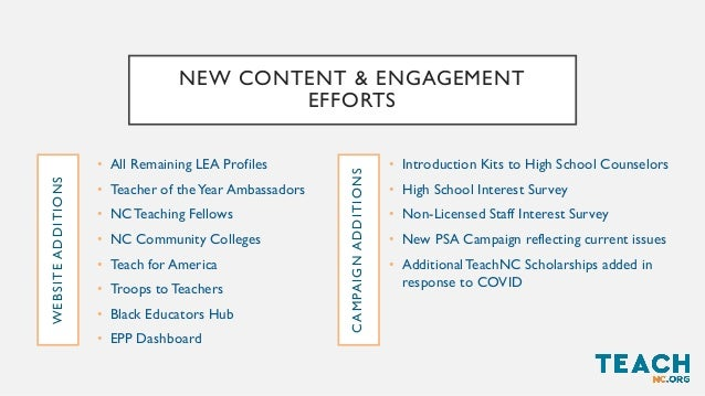 LESSONS LEARNED • Thousands are already interested! Most are post-baccalaureate candidates, so far. They just need informa...