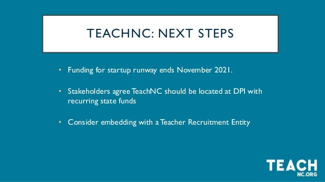 Our Partners Our Funders We are not alone in this work.We know that recruiting the next generation of teachers is done bes...