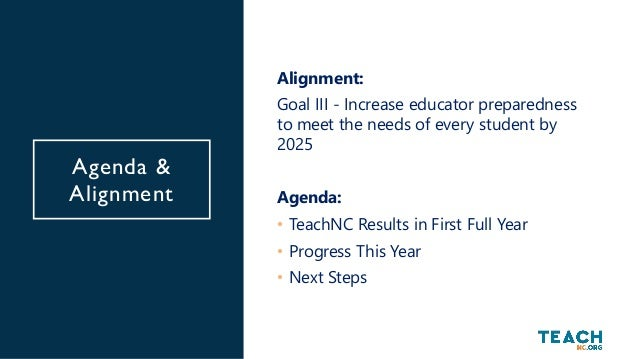 What is TeachNC? TeachNC is a statewide teacher recruitment initiative that employs both a broad media campaign and a robu...