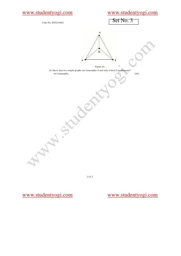 210502 Mathematical Foundation Of Computer Science