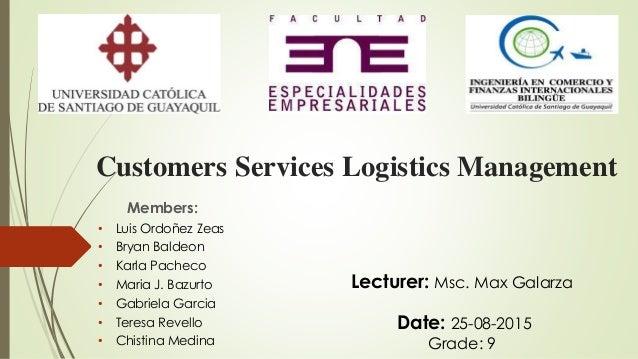 customer service management The Customer Service Management