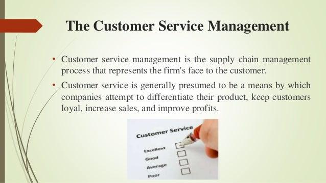 Customer service management essay