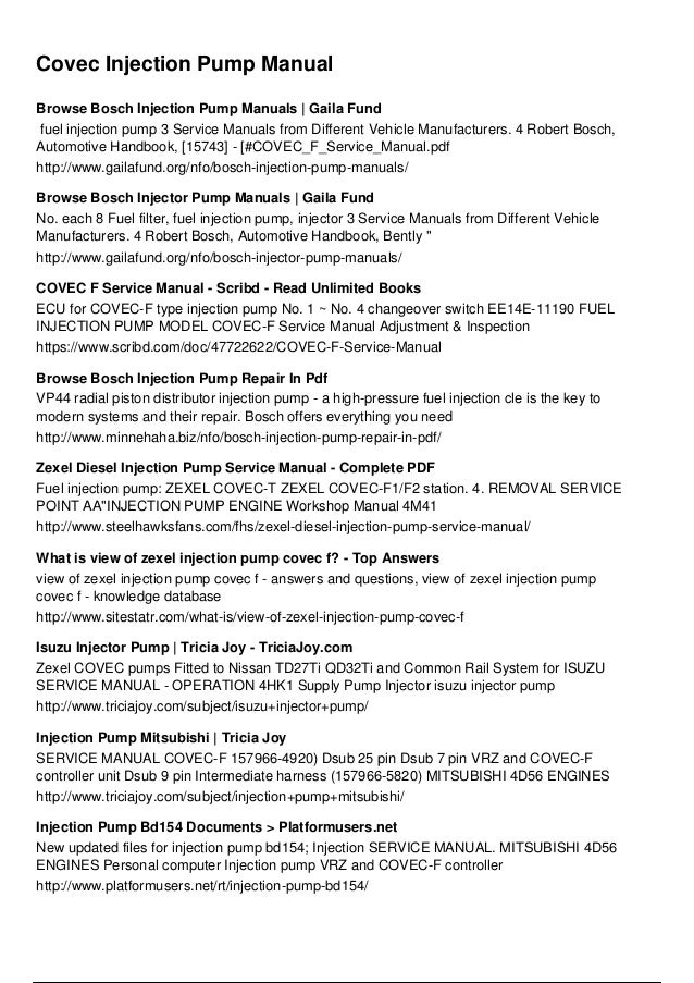 210f2e60f2e0ed86ed4542bce7ebe036 covec injection pump manual browse bosch injection pump manuals gaila fund fuel injection pump 3 publicscrutiny Image collections