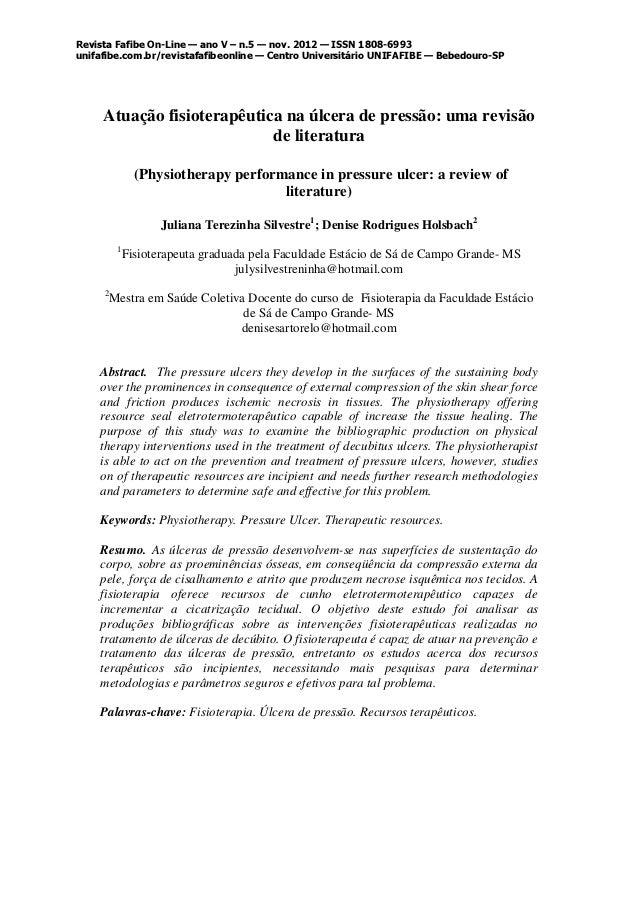Revista Fafibe On-Line — ano V – n.5 — nov. 2012 — ISSN 1808-6993unifafibe.com.br/revistafafibeonline — Centro Universitár...