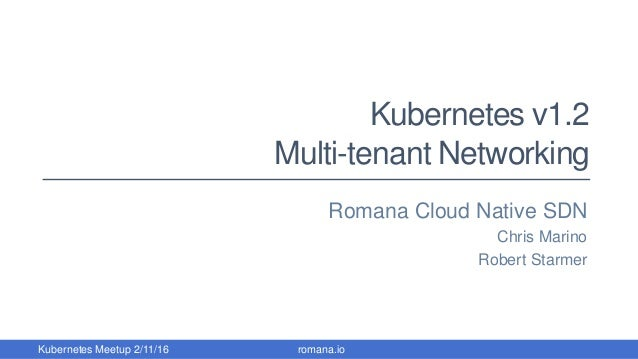 First Live Public Demonstration of Kubernetes v1 2 with Network Policy