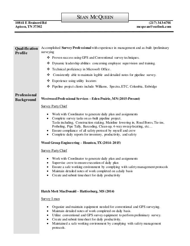 Host Example Resume