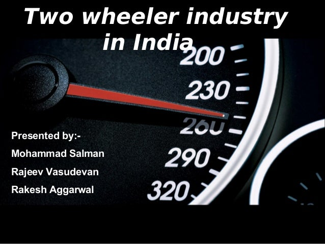 market analysis of two wheeler industry A new market research report has been published in the repository of transparency market research on two wheeler tires the report provides incisive insights on the chronological growth trajectory of the market along with the present and future growth prospects present in the market.
