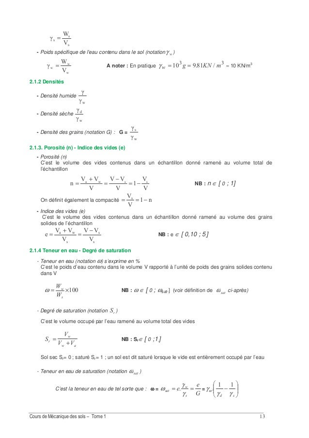 Exercice 2.1 On a réalisé un sondage de reconnaissance dont la coupe est donnée ci-dessous. Réponses: a) γ1 = 16 kN/m3 ; γ...