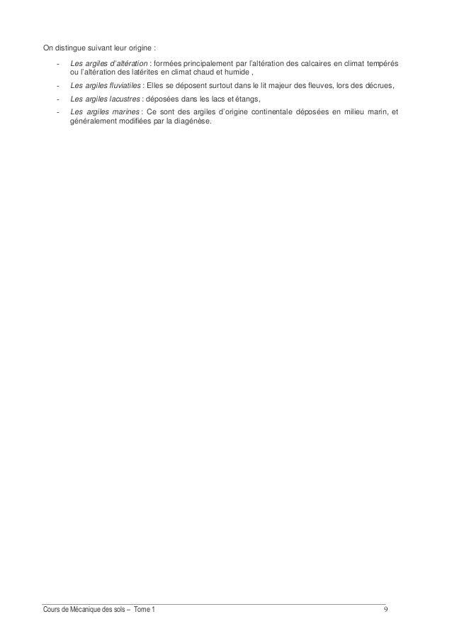 IDENTIFICATION DES SOLS 1. INTRODUCTION Quelque soit l'utilisation envisagée d'un sol, il est important de connaître sa na...