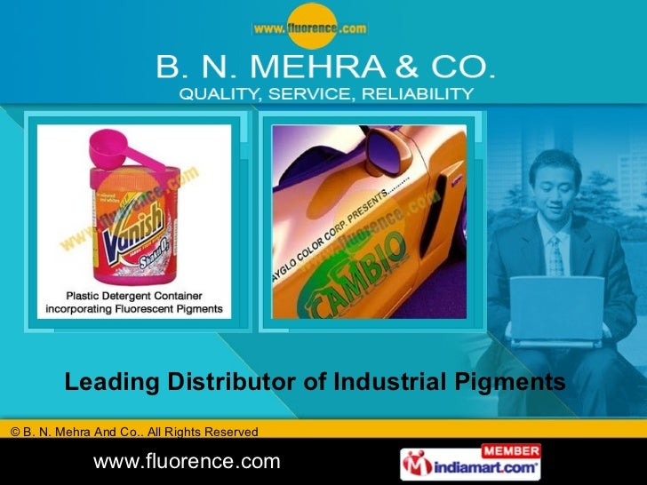 Leading Distributor of Industrial Pigments