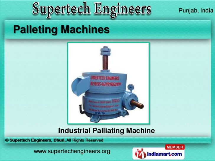 Palleting Machines        Industrial Palliating Machine