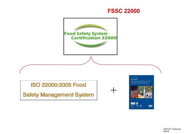 2012-05 / S.Chornyy slide 43 + FSSC 22000