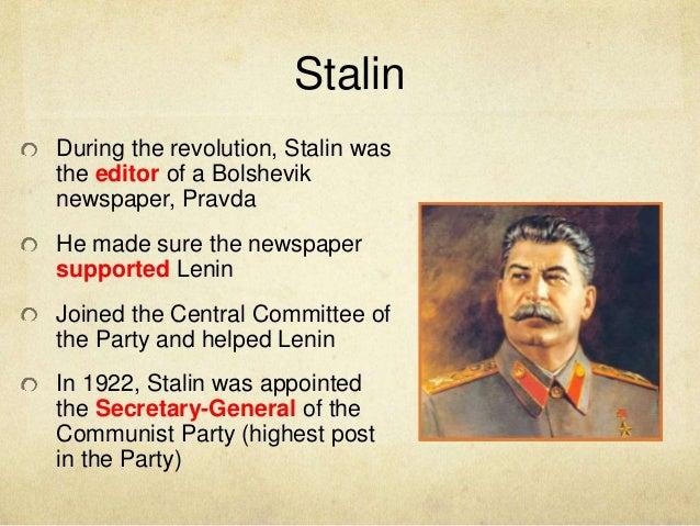 stalin essays
