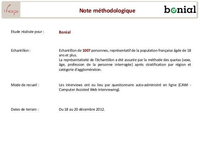 Note méthodologique Etude réalisée pour : Bonial Echantillon : Echantillon de 1007 personnes, représentatif de la populati...