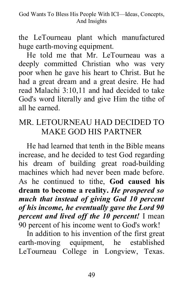 Oral roberts seed faith