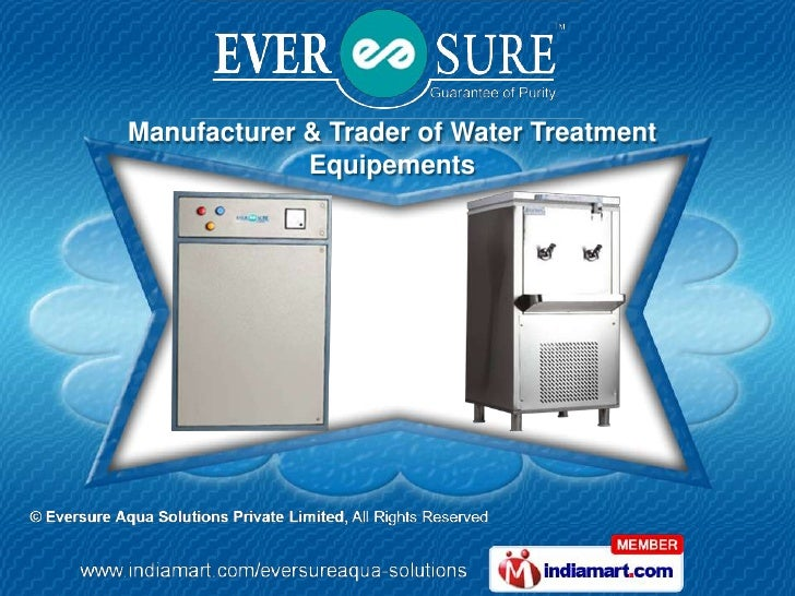Manufacturer & Trader of Water Treatment             Equipements