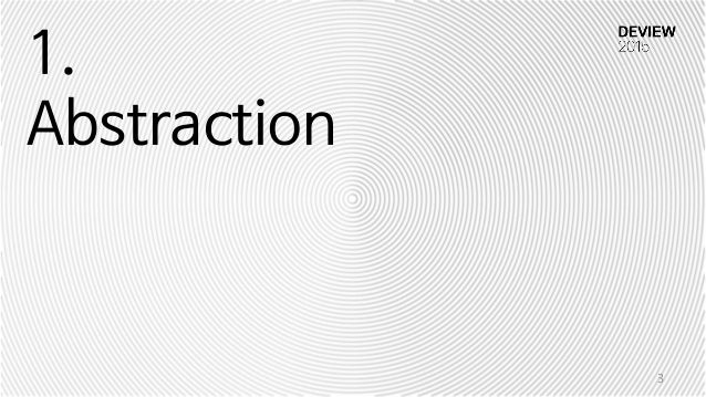 1. Abstraction 3