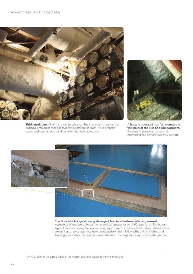 Asbestos In Shipyards Identification Awareness
