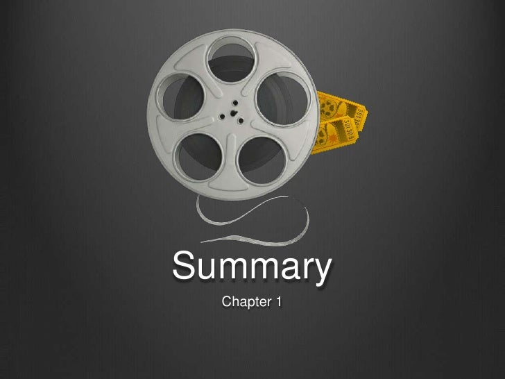 Summary<br />Chapter 1<br />