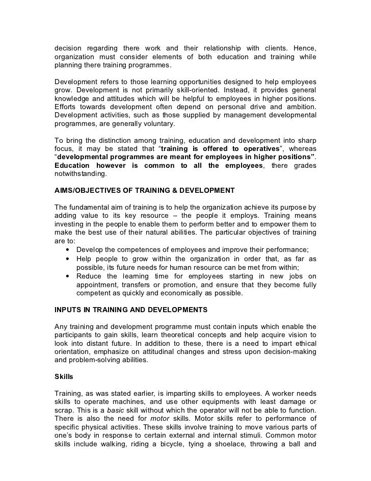 a report on training development Management, leadership and communication training report afghanistan institute of rural development, ministry of rural rehabilitation & development - 2 - table of contents.