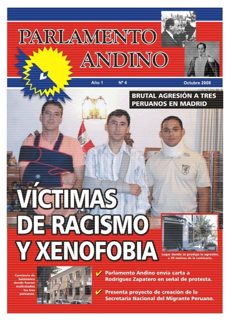 1     PARLAMENTO ANDINO   Ingresa: www.defiendemigrante.com