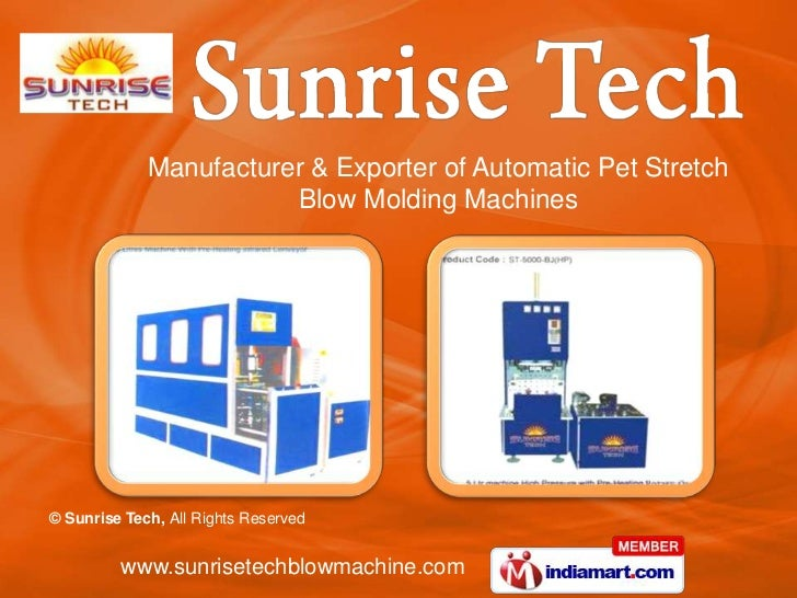 Manufacturer & Exporter of Automatic Pet Stretch <br />Blow Molding Machines<br />