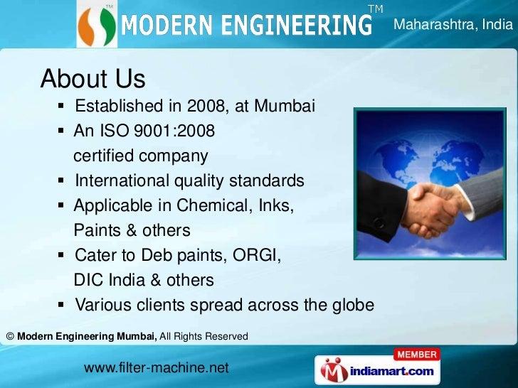 Maharashtra, India<br />About Us<br /><ul><li>  Established in 2008, at Mumbai