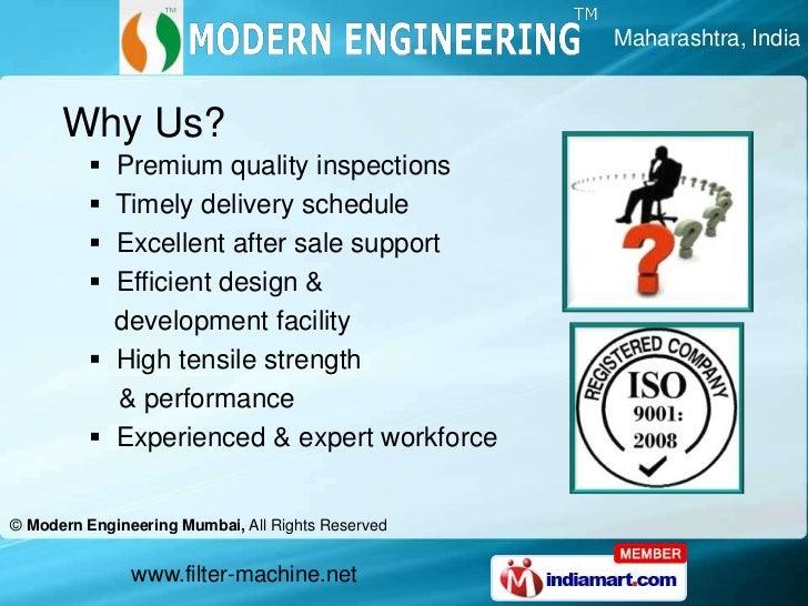 An ISO 9001:2008 </li></ul>   certified company<br /><ul><li>  International quality standards