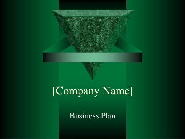 [Company Name]   Business Plan