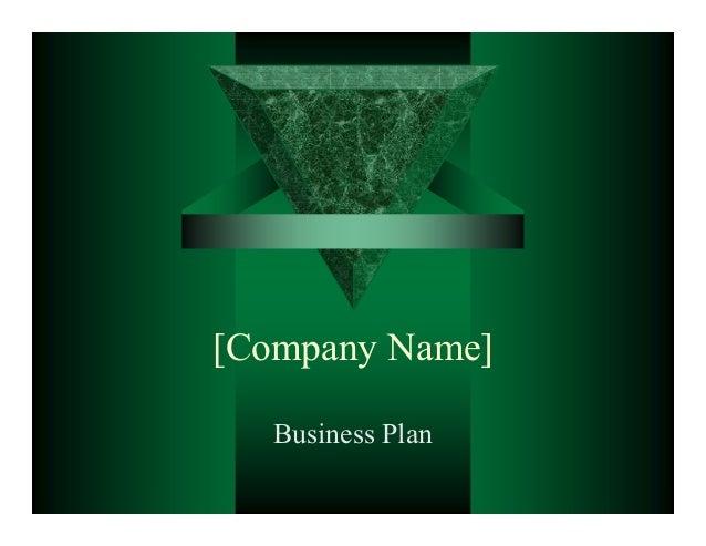 slideshare business plan powerpoint presentation