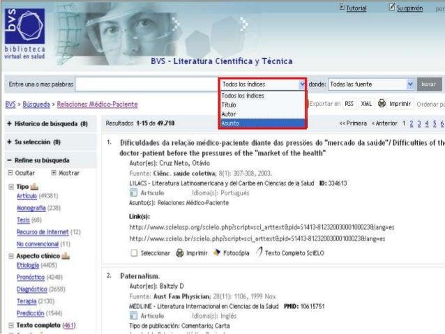 Guía breve de uso de Medline a través de PubMed • http://preview.ncbi.nlm.nih.gov/pubmed