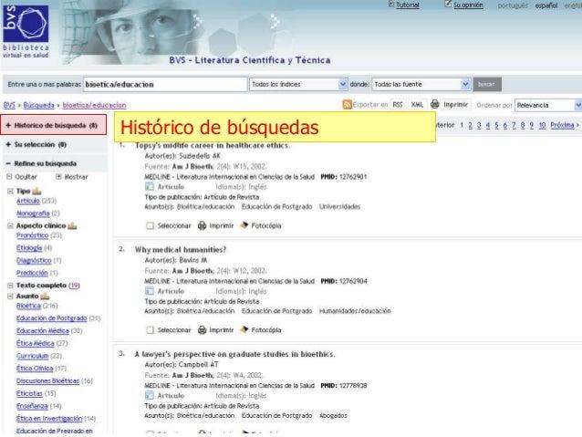 Busquedas bibliografica:lilacs y pubmed