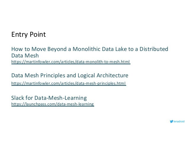 Architect's Open-Source Guide for a Data Mesh Architecture Slide 3