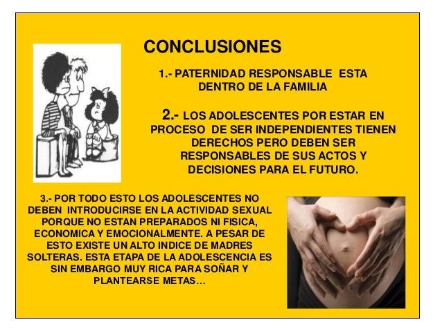 213 Maternidad Responsable