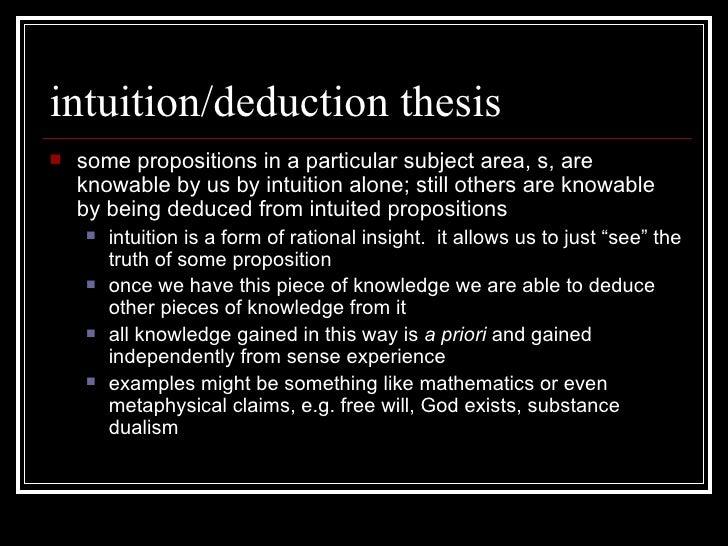rationalist philosophers