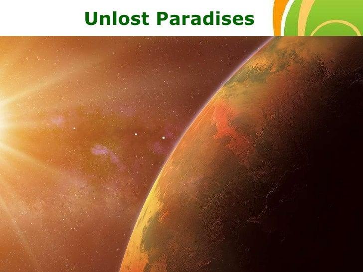 Free Powerpoint Templates Unlost Paradises