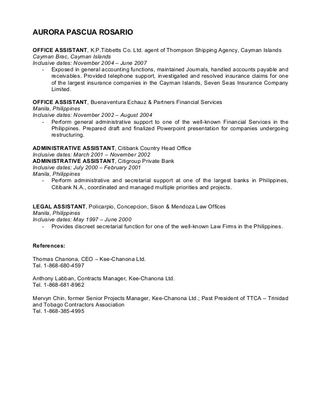 Fantastic Cayman Islands Accounting Resume Gallery - Resume Ideas ...