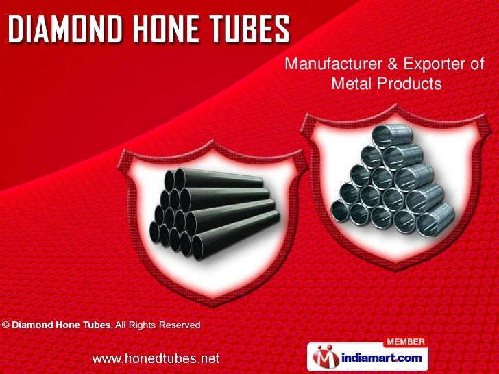Manufacturer & Exporter of     Metal Products