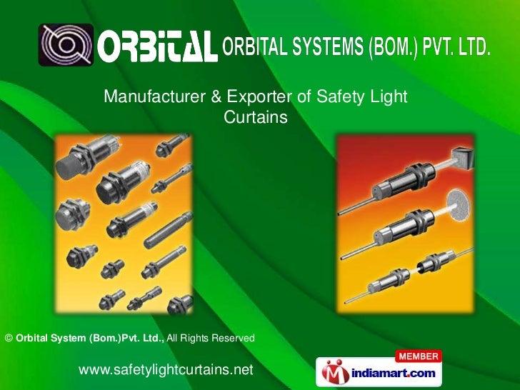 Manufacturer & Exporter of Safety Light Curtains<br />