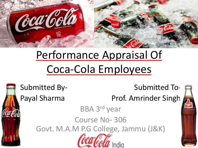 performance appraisal at pepsi cola international View imran khan's profile pepsi-cola international , nestle design and implement various internal hr related documents like performance appraisal.
