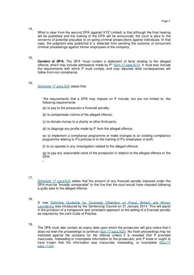 Westlaw Insight Deferred Prosecution Agreements