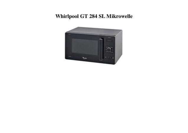 Whirlpool GT 284 SL Mikrowelle