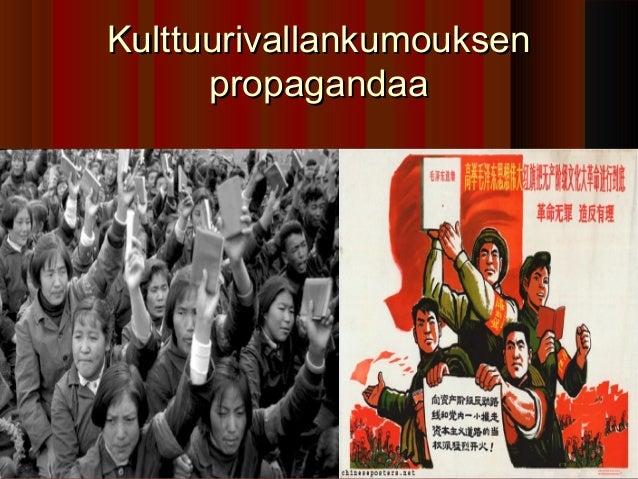 Kulttuurivallankumouksen      propagandaa