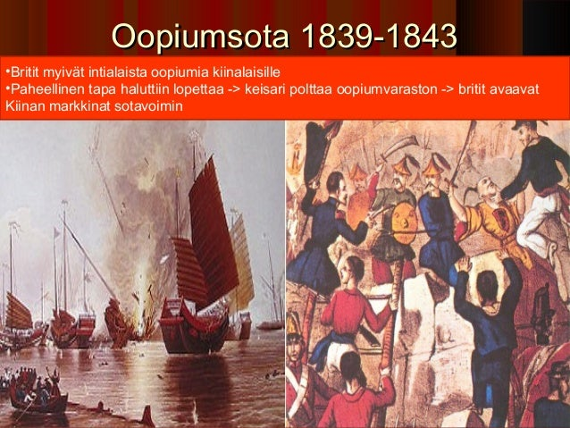 Oopiumsota