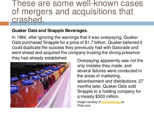 The Pepsico Company: the Quaker Oats Acquisition